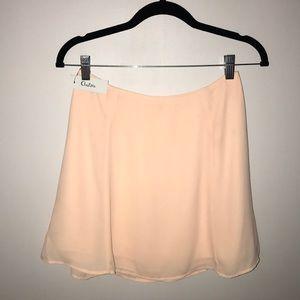 COPY - Aritzia peach skirt